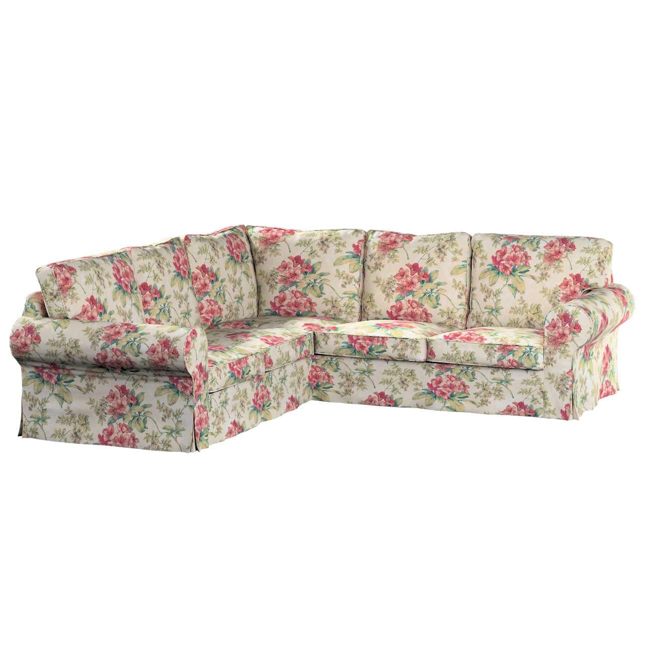 Pokrowiec na sofę narożną Ektorp w kolekcji Londres, tkanina: 143-40