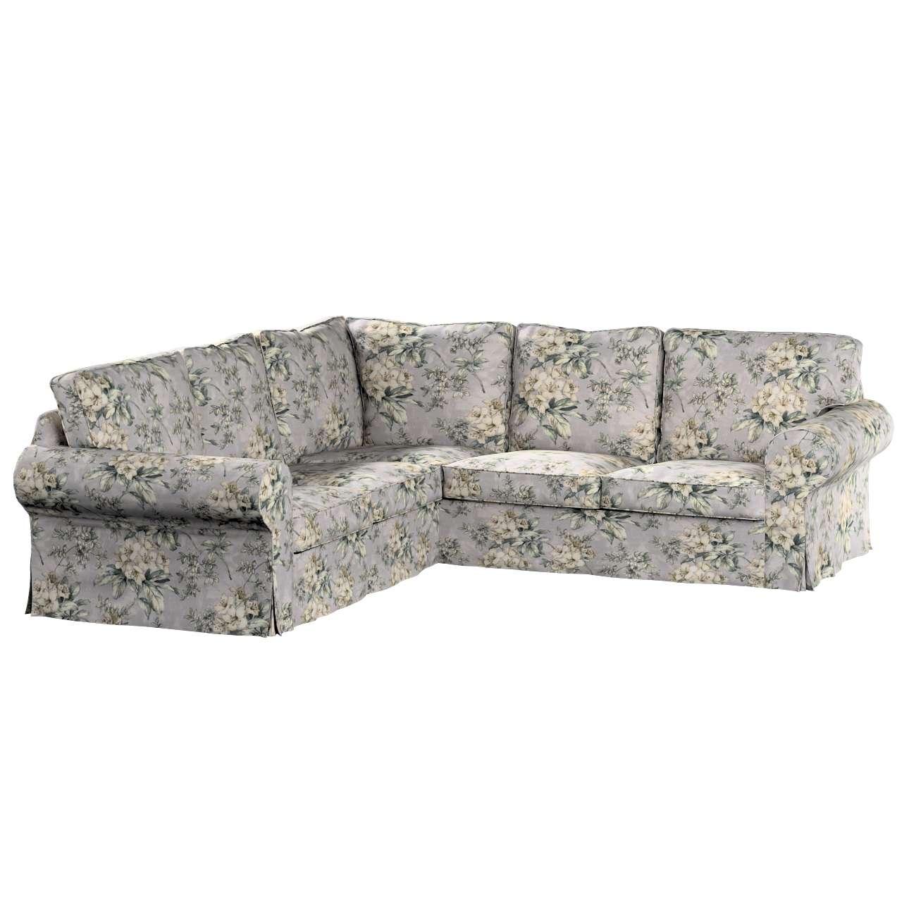 Pokrowiec na sofę narożną Ektorp w kolekcji Londres, tkanina: 143-36