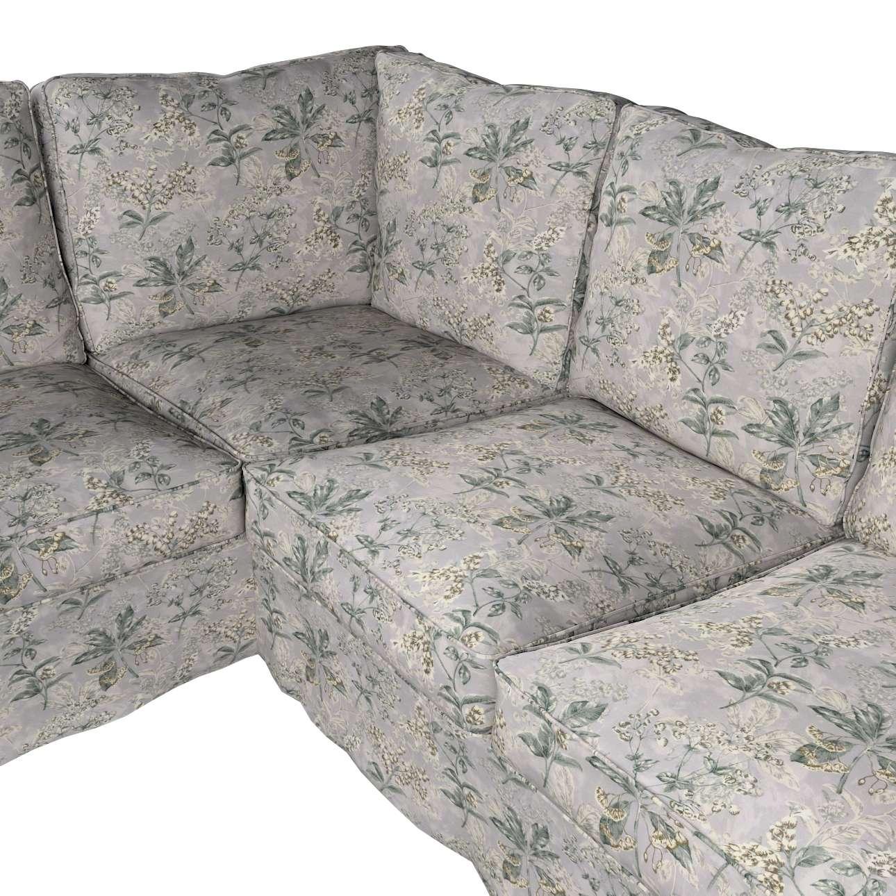 Pokrowiec na sofę narożną Ektorp w kolekcji Londres, tkanina: 143-37