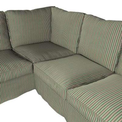 Pokrowiec Ektorp na sofę narożną w kolekcji Londres, tkanina: 143-42
