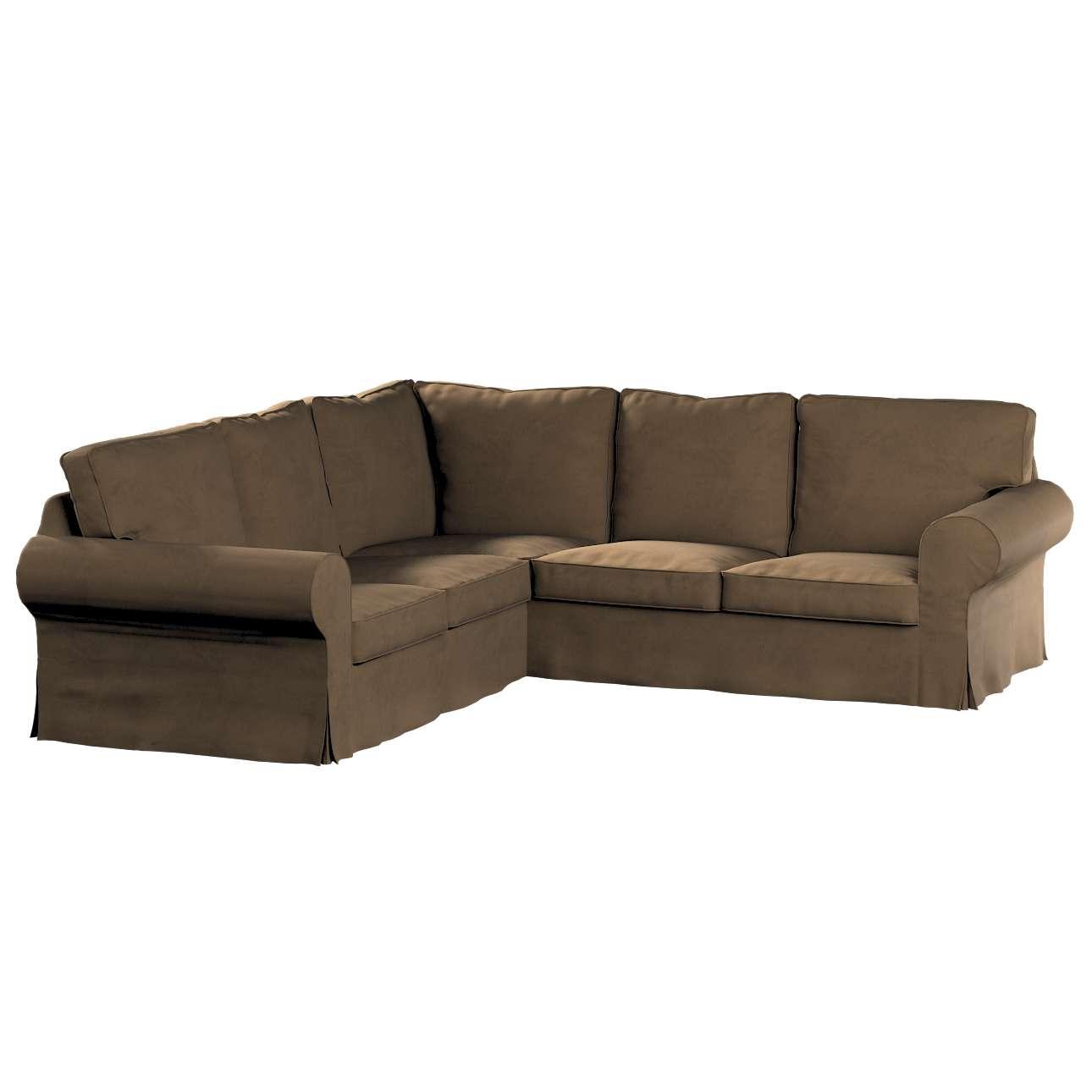 Pokrowiec na sofę narożną Ektorp w kolekcji Living II, tkanina: 160-94