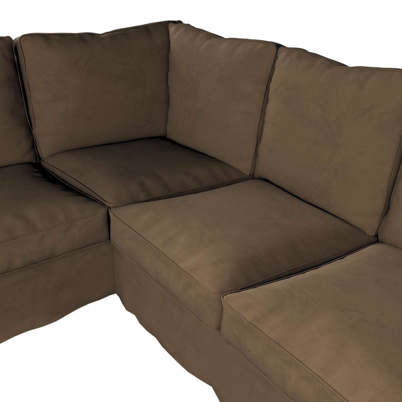 Pokrowiec Ektorp na sofę narożną w kolekcji Living, tkanina: 160-94