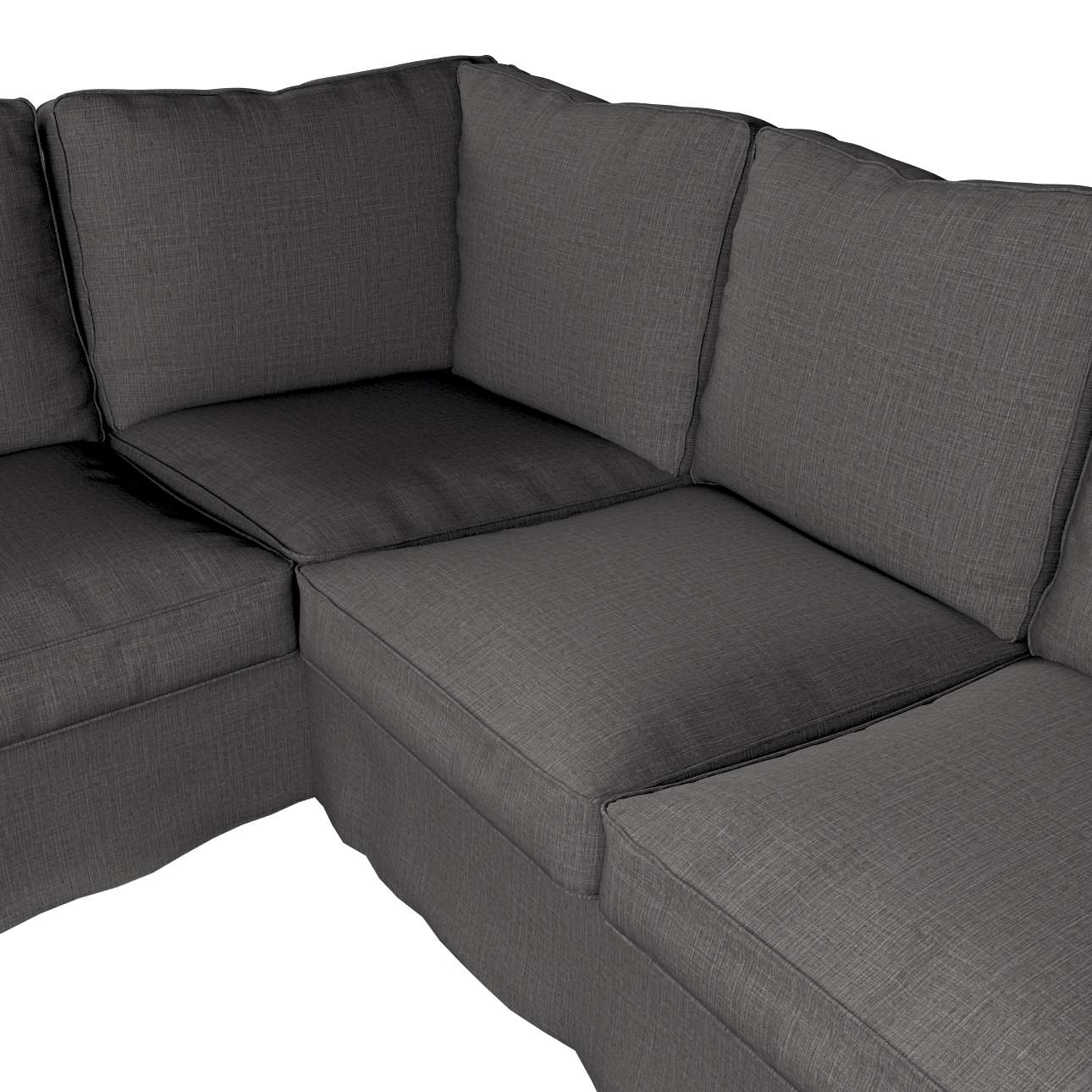 Pokrowiec Ektorp na sofę narożną w kolekcji Living, tkanina: 161-16
