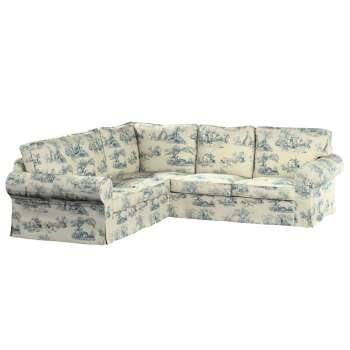 Pokrowiec na sofę Ektorp narożną Sofa Ektorp narożna w kolekcji Avinon, tkanina: 132-66