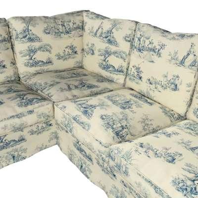 Pokrowiec Ektorp na sofę narożną w kolekcji Avinon, tkanina: 132-66