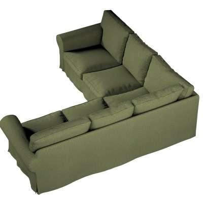 Pokrowiec na sofę narożną Ektorp w kolekcji Madrid, tkanina: 161-22