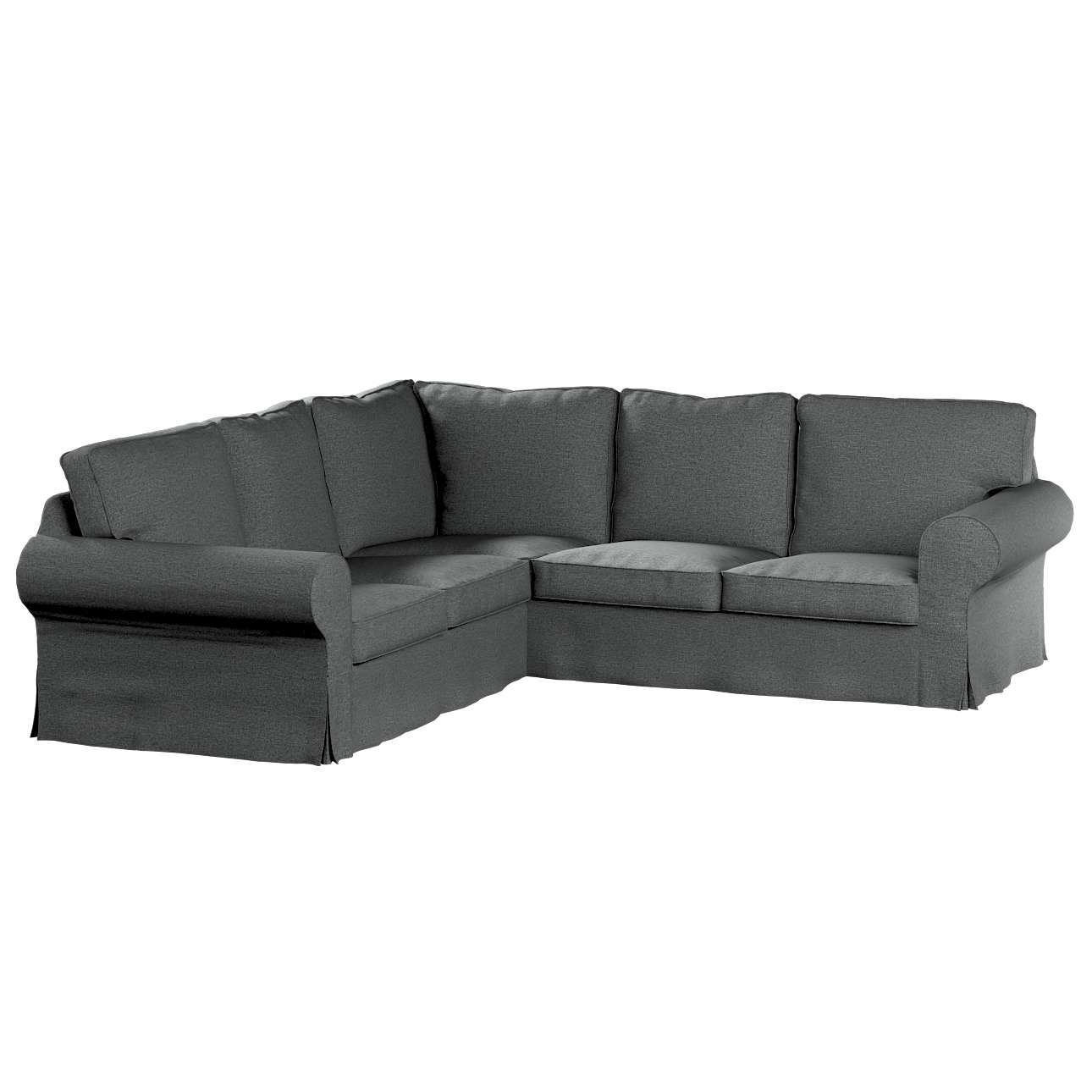 Pokrowiec na sofę narożną Ektorp w kolekcji Madrid, tkanina: 161-24