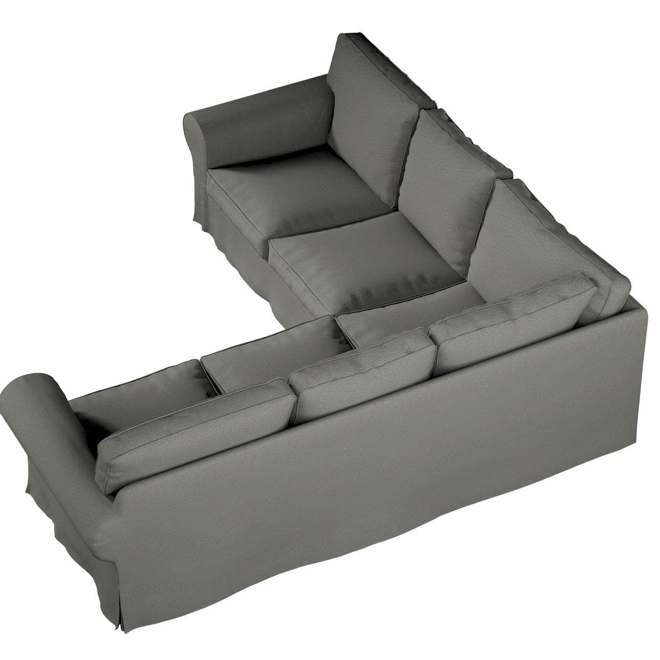 Pokrowiec na sofę narożną Ektorp w kolekcji Etna, tkanina: 161-25