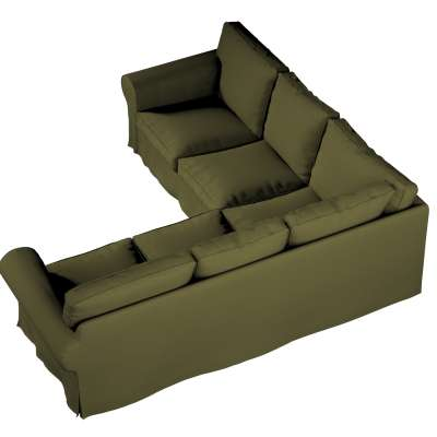 Pokrowiec Ektorp na sofę narożną w kolekcji Etna, tkanina: 161-26