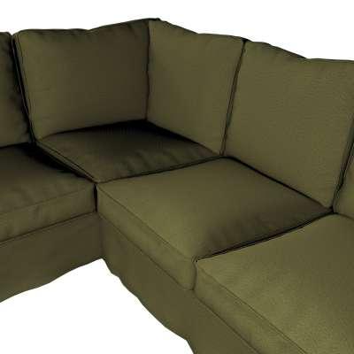 Pokrowiec na sofę narożną Ektorp w kolekcji Etna, tkanina: 161-26