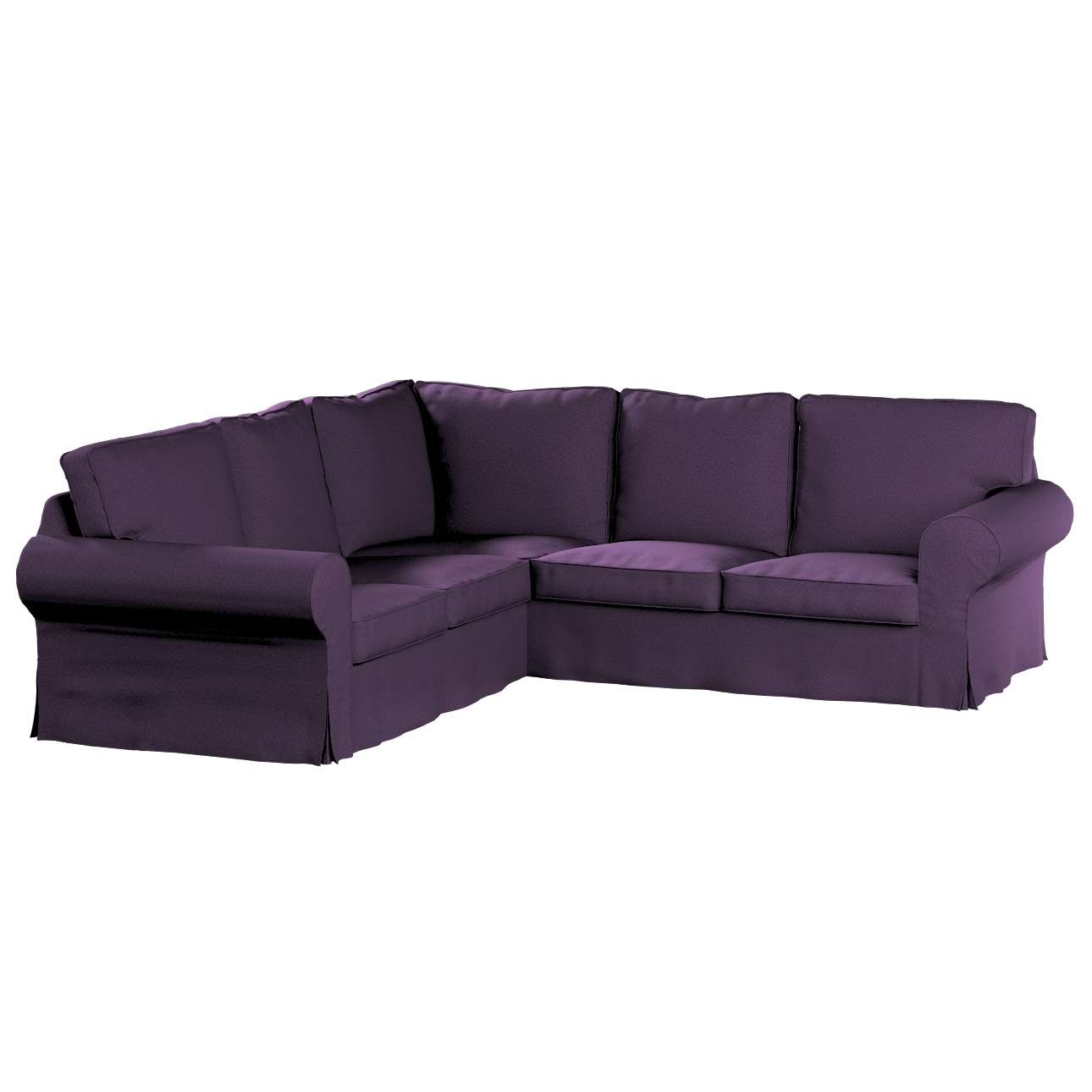 Pokrowiec Ektorp na sofę narożną w kolekcji Etna, tkanina: 161-27