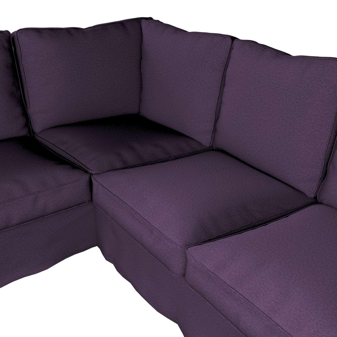 Pokrowiec na sofę narożną Ektorp w kolekcji Etna, tkanina: 161-27