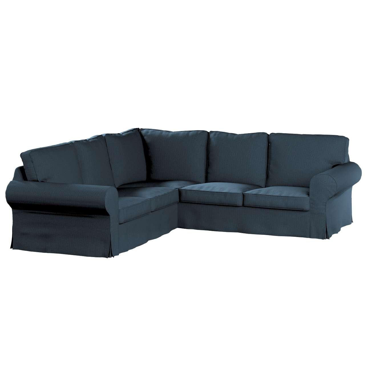 Pokrowiec Ektorp na sofę narożną w kolekcji Etna, tkanina: 705-30