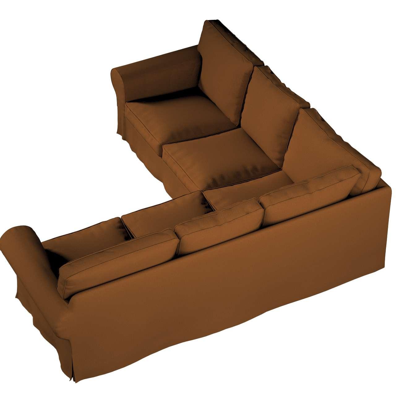 Pokrowiec na sofę narożną Ektorp w kolekcji Living II, tkanina: 161-28