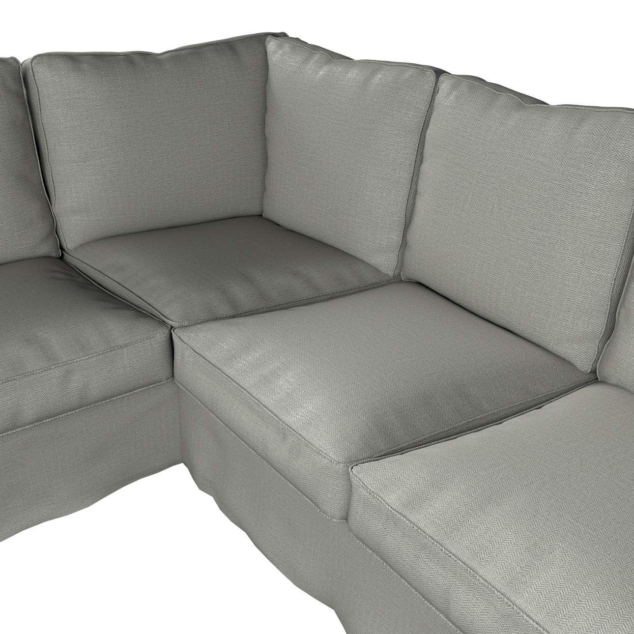 Pokrowiec na sofę narożną Ektorp w kolekcji Bergen, tkanina: 161-83