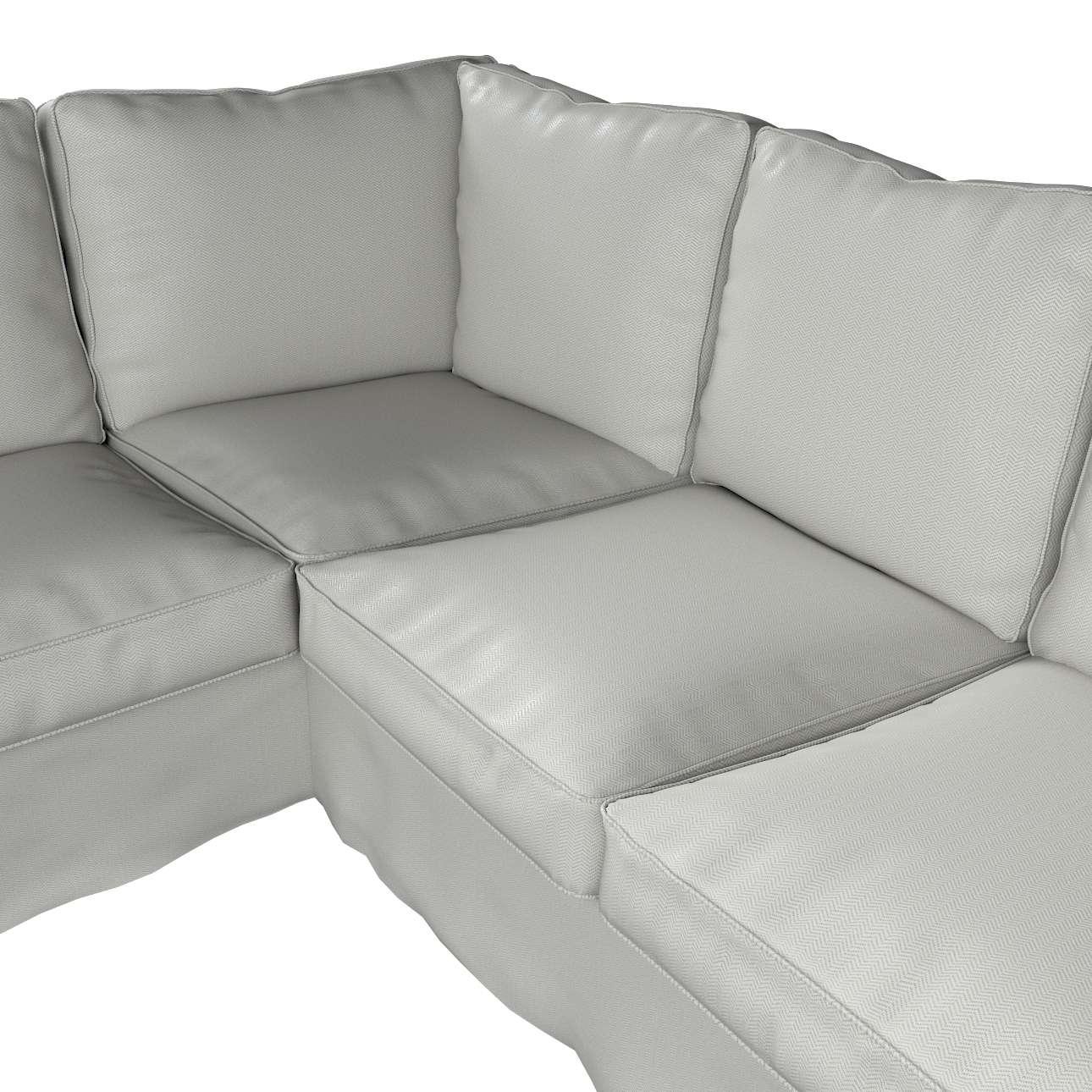 Pokrowiec Ektorp na sofę narożną w kolekcji Bergen, tkanina: 161-84