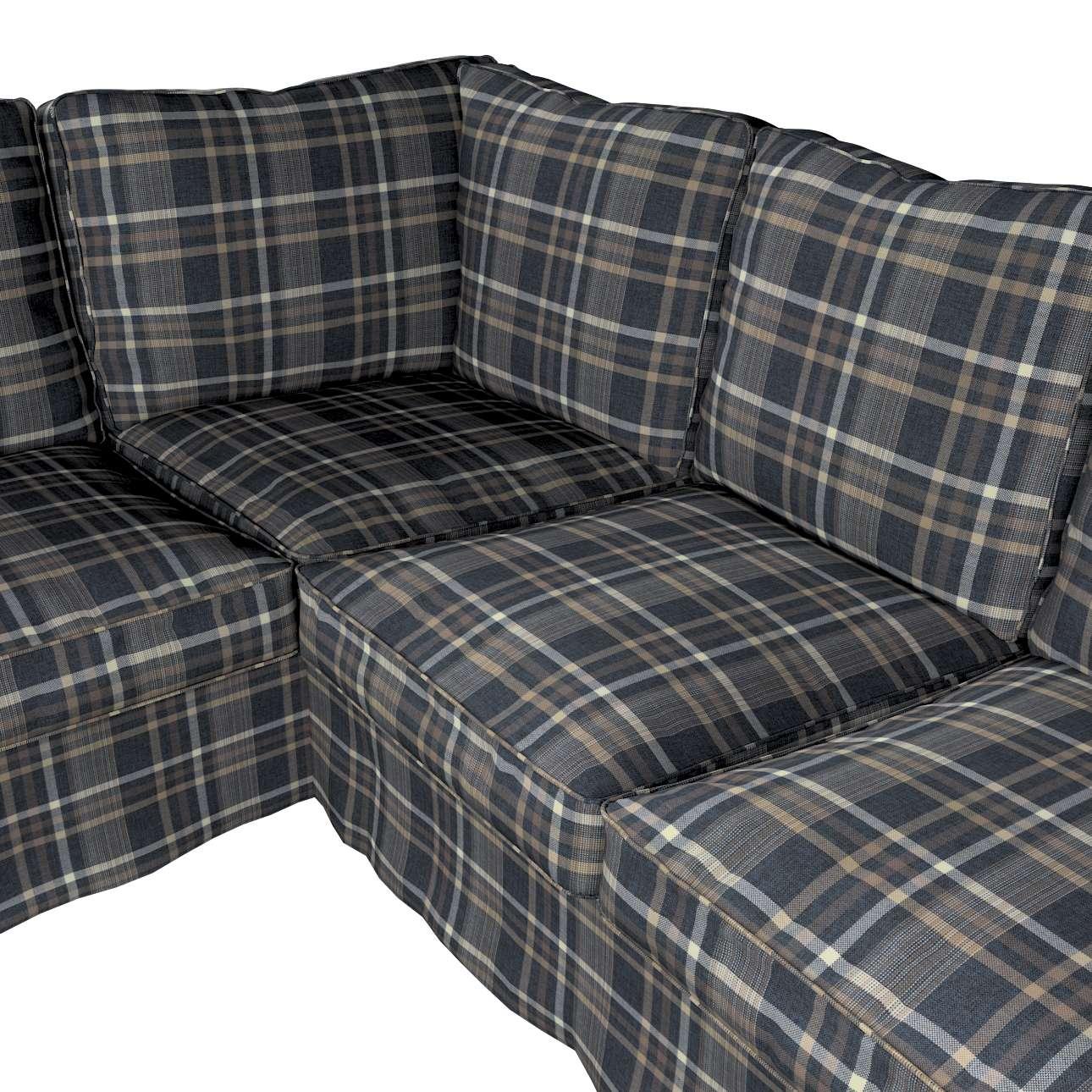 Pokrowiec na sofę narożną Ektorp w kolekcji Edinburgh, tkanina: 703-16