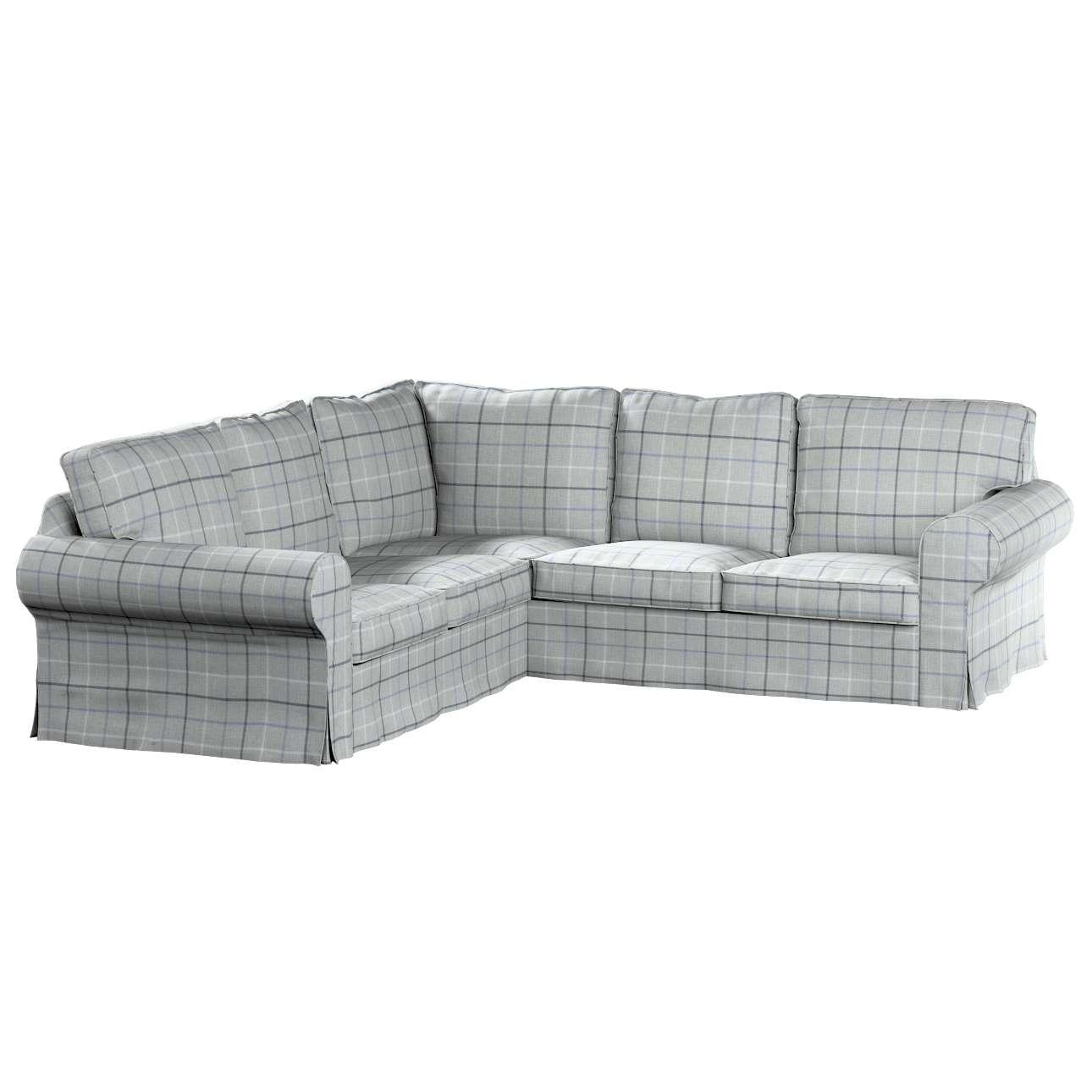 Pokrowiec na sofę narożną Ektorp w kolekcji Edinburgh, tkanina: 703-18