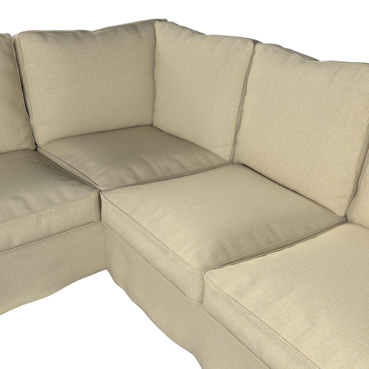 Pokrowiec na sofę narożną Ektorp w kolekcji Living, tkanina: 161-45