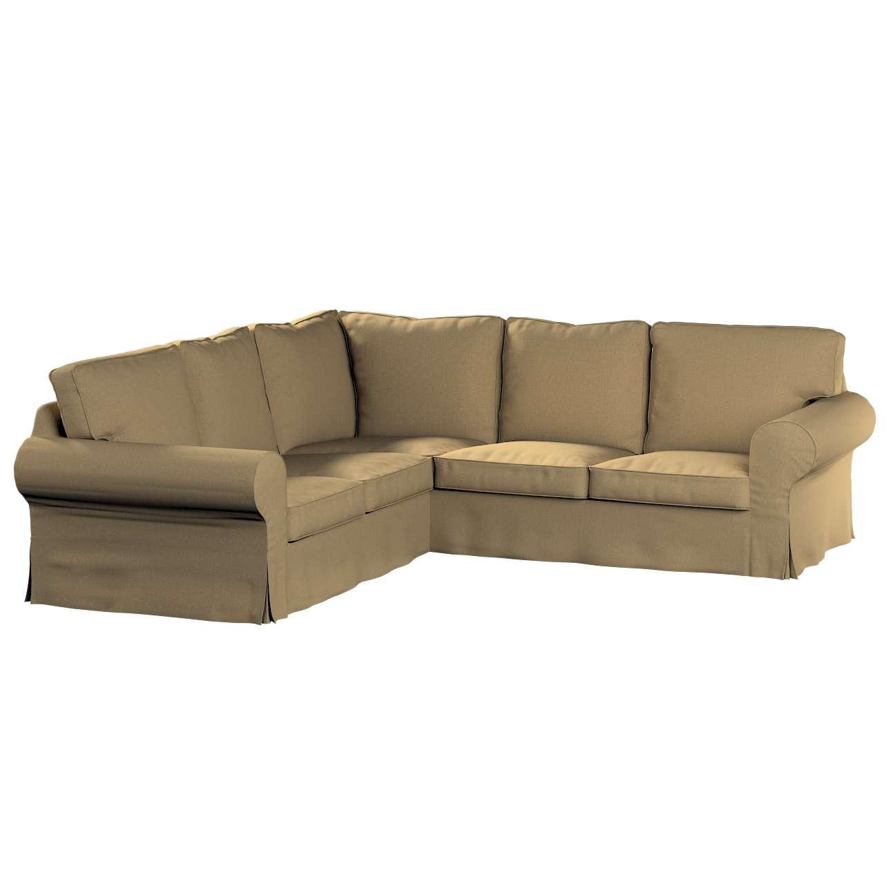 Pokrowiec na sofę narożną Ektorp w kolekcji Living, tkanina: 161-50