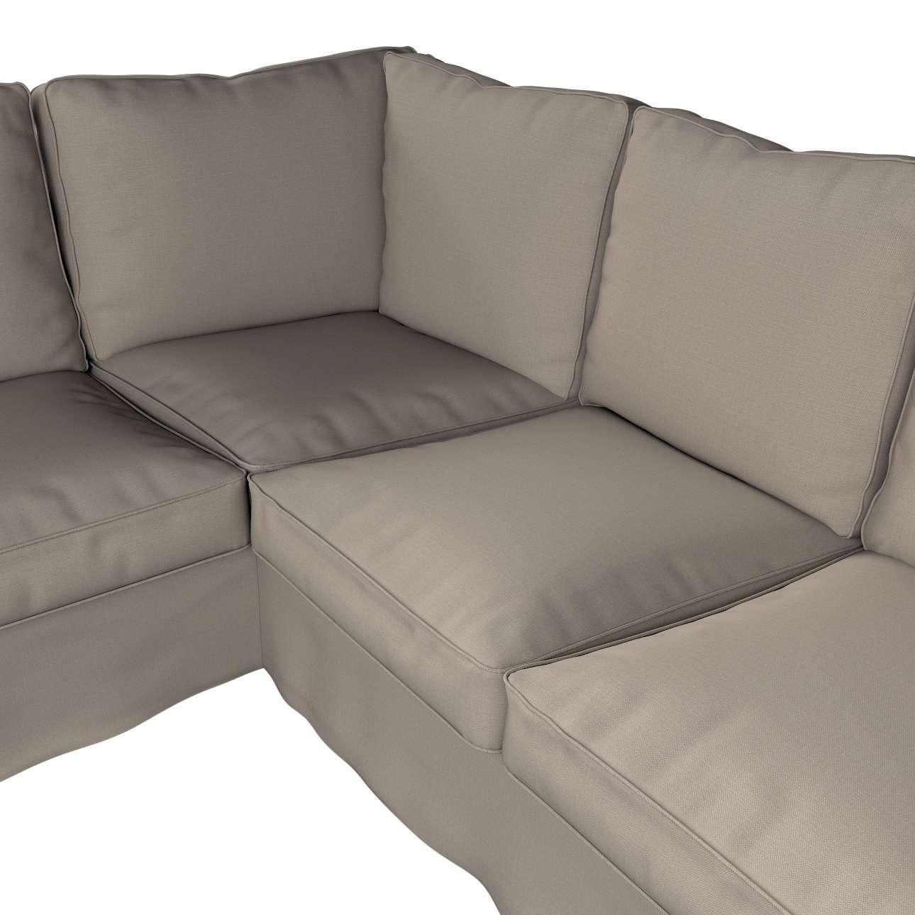 Pokrowiec na sofę narożną Ektorp w kolekcji Living, tkanina: 161-53
