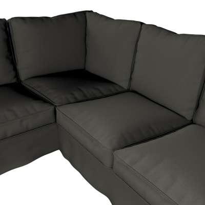 Pokrowiec na sofę narożną Ektorp w kolekcji Living, tkanina: 161-55