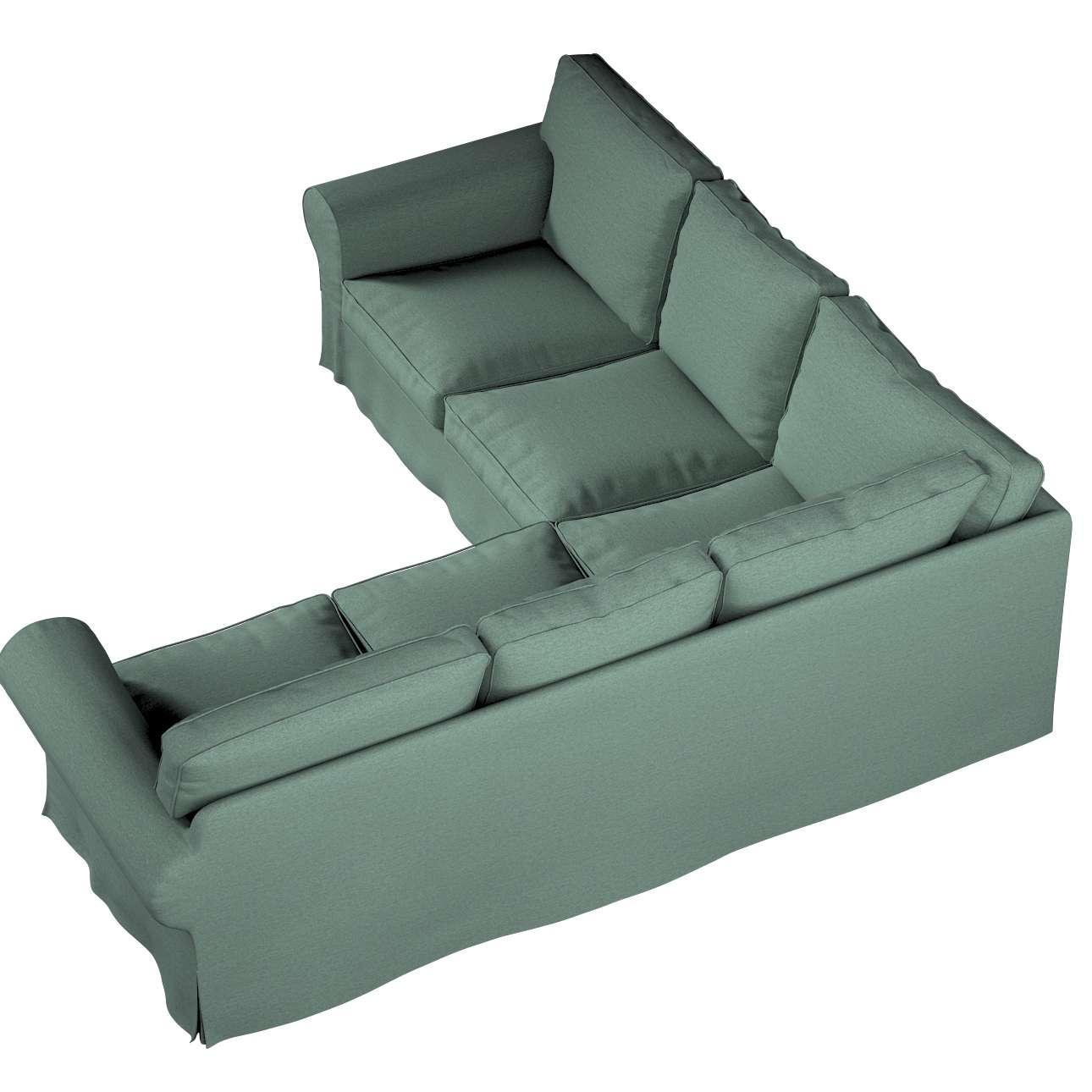 Pokrowiec na sofę narożną Ektorp w kolekcji Madrid, tkanina: 161-89