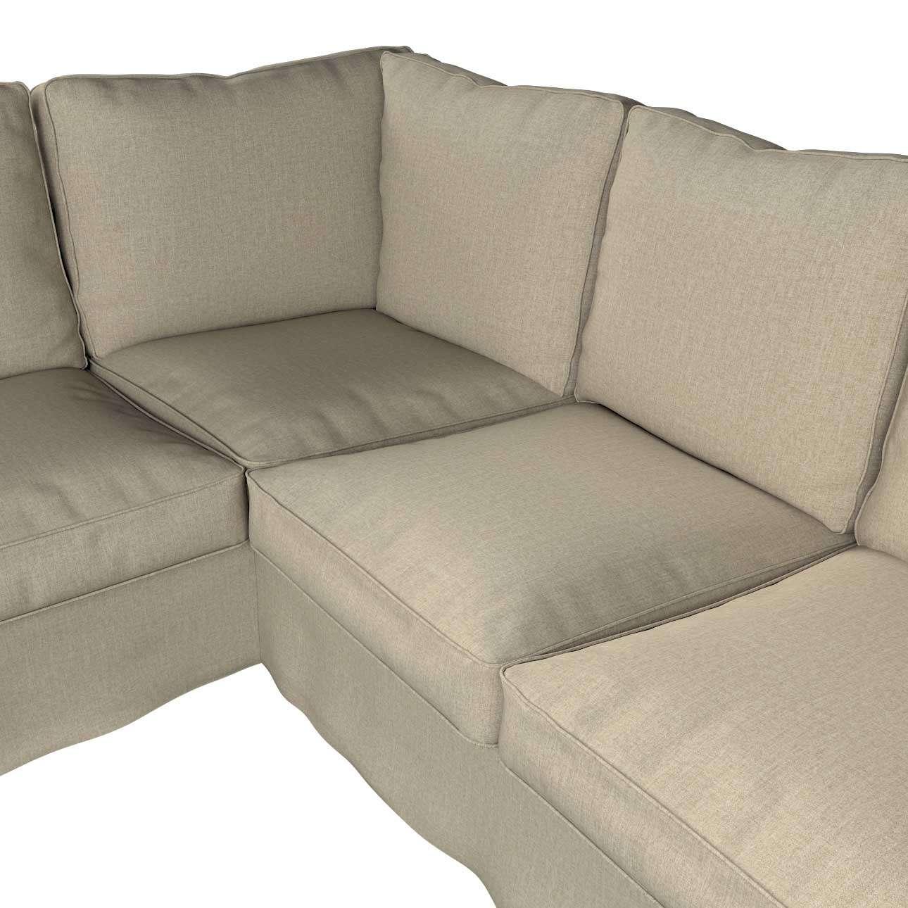 Pokrowiec na sofę narożną Ektorp w kolekcji City, tkanina: 704-80