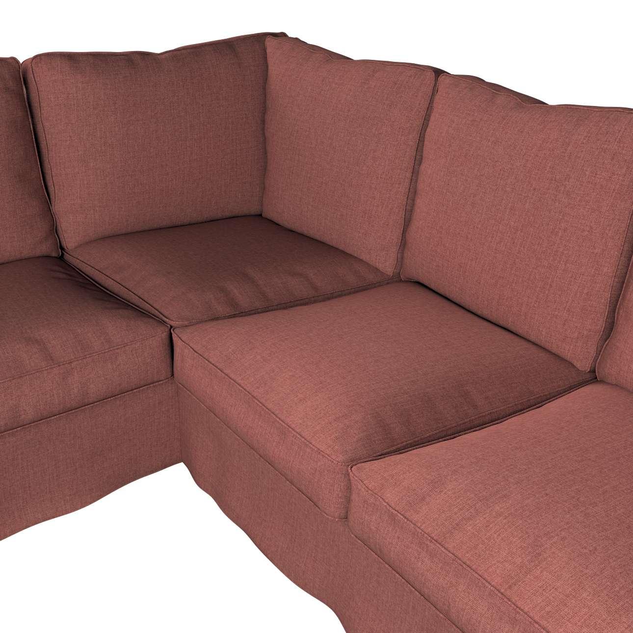 Pokrowiec na sofę narożną Ektorp w kolekcji City, tkanina: 704-84