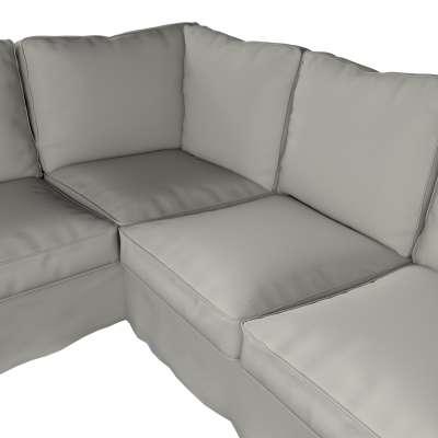 Pokrowiec na sofę narożną Ektorp w kolekcji Living, tkanina: 161-54