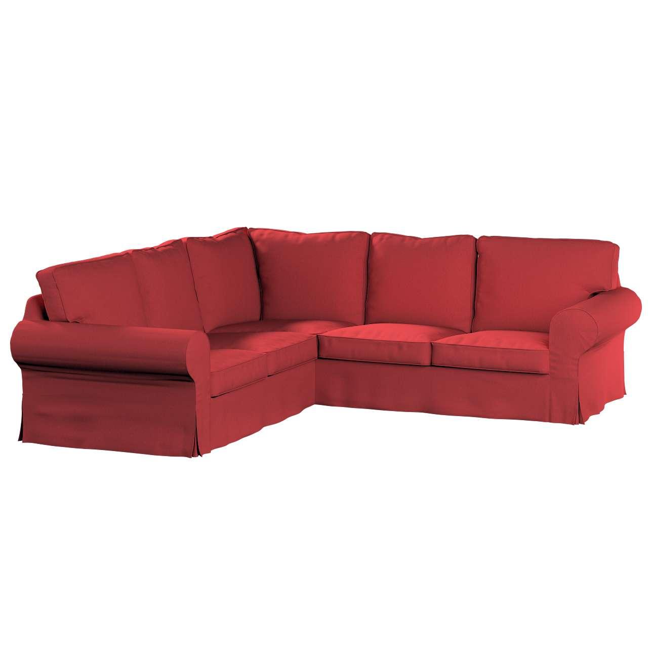 Pokrowiec na sofę narożną Ektorp w kolekcji Living, tkanina: 161-56