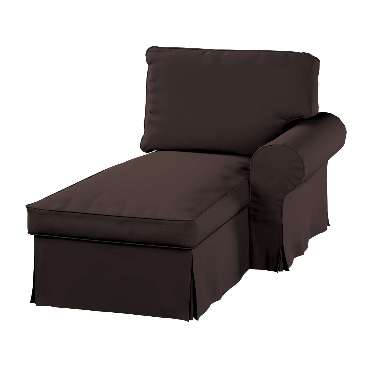 Ektorp gulimajo krėslo užvalkalas  (su porankiu, dešiniojo) Ektorp gulimojo krėslo užvalkalas su porankiu (dešiniojo) kolekcijoje Cotton Panama, audinys: 702-03