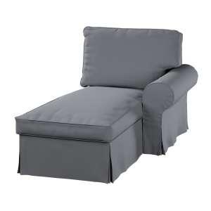 Ektorp gulimajo krėslo užvalkalas  (su porankiu, dešiniojo) Ektorp gulimojo krėslo užvalkalas su porankiu (dešiniojo) kolekcijoje Cotton Panama, audinys: 702-07