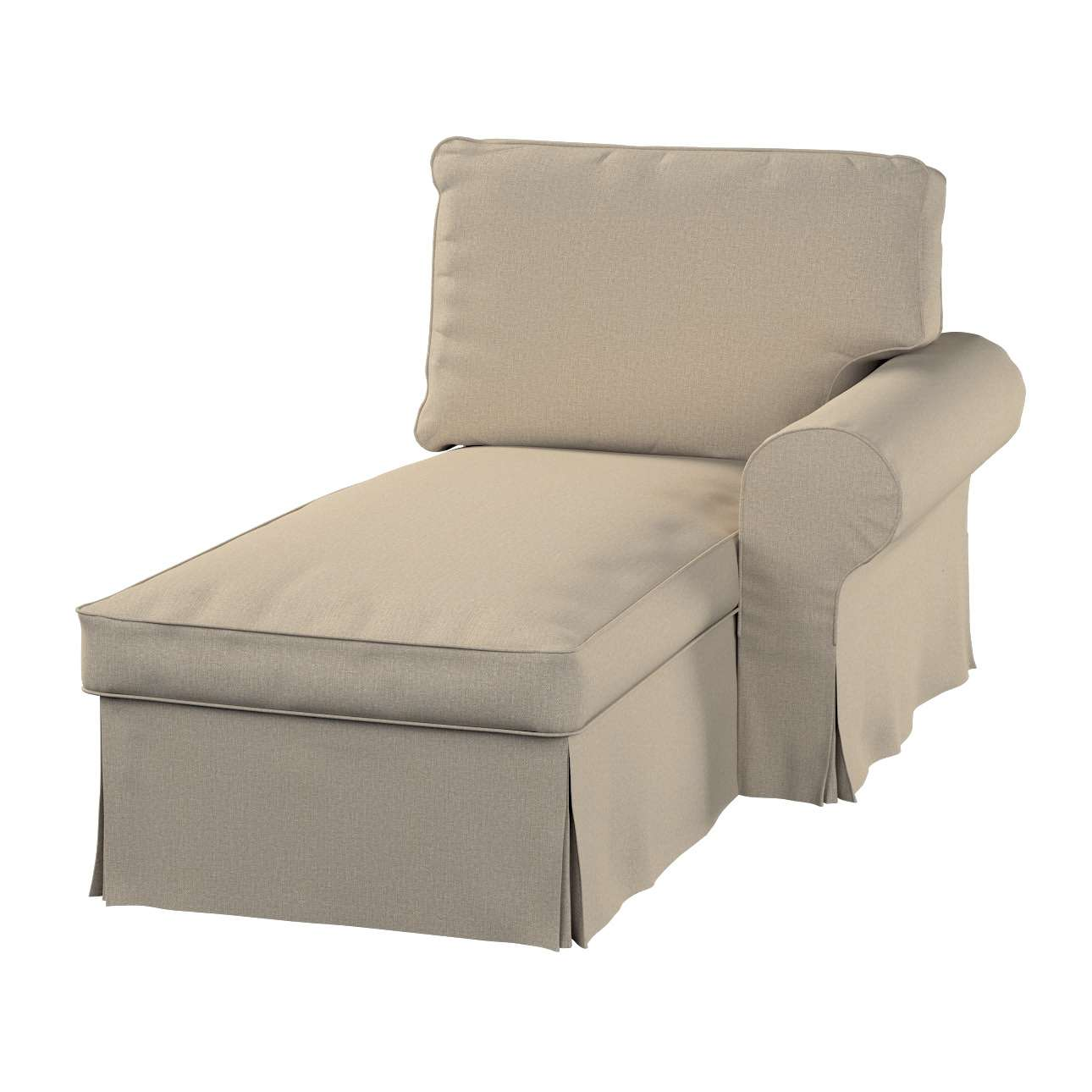 IKEA zitbankhoes/ overtrek voor Ektorp chaise longue (rechts) van de collectie Edinburgh, Stof: 115-78