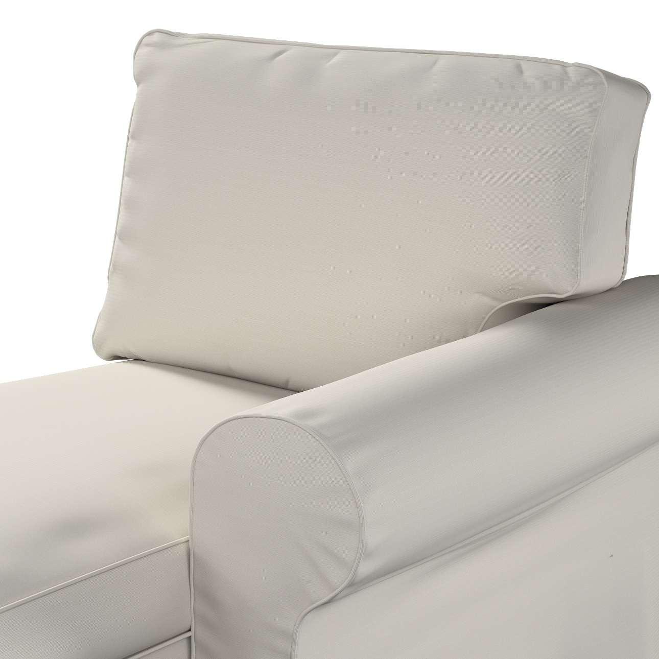 Pokrowiec na szezlong Ektorp prawy w kolekcji Cotton Panama, tkanina: 702-31