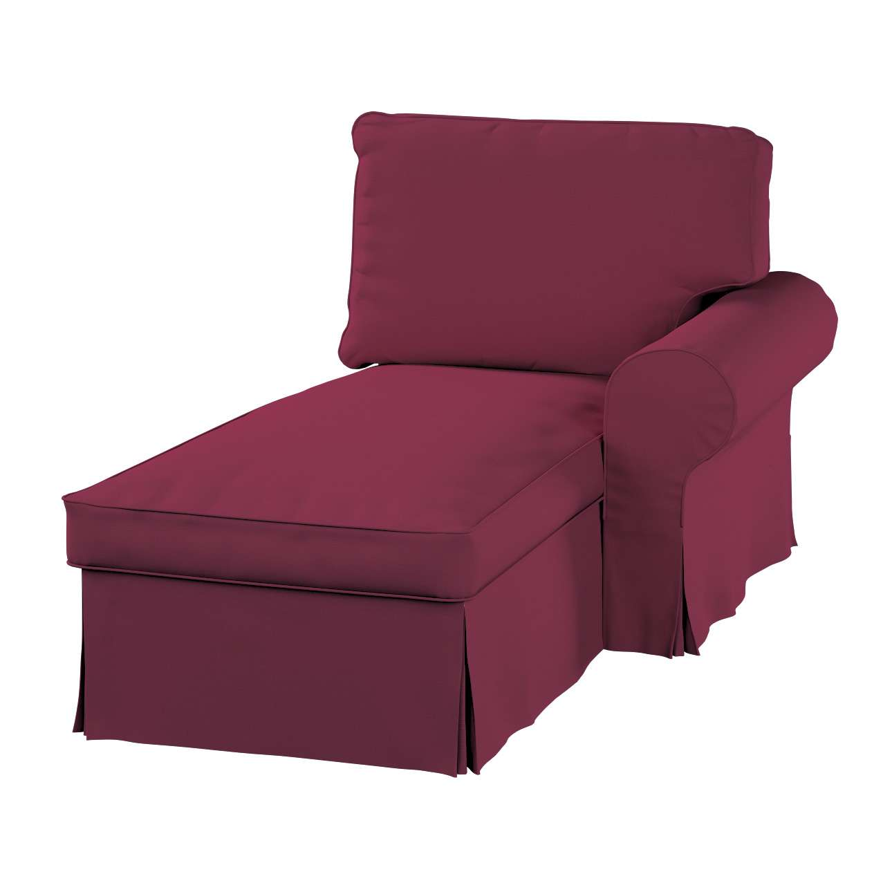Ektorp gulimajo krėslo užvalkalas  (su porankiu, dešiniojo) Ektorp gulimojo krėslo užvalkalas su porankiu (dešiniojo) kolekcijoje Cotton Panama, audinys: 702-32