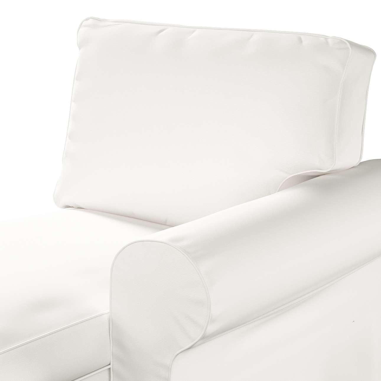 Bezug für Ektorp Récamiere rechts von der Kollektion Cotton Panama, Stoff: 702-34