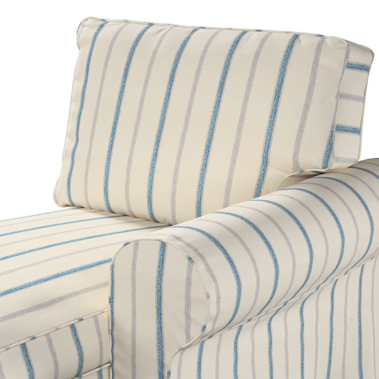 Pokrowiec na szezlong Ektorp prawy w kolekcji Avinon, tkanina: 129-66