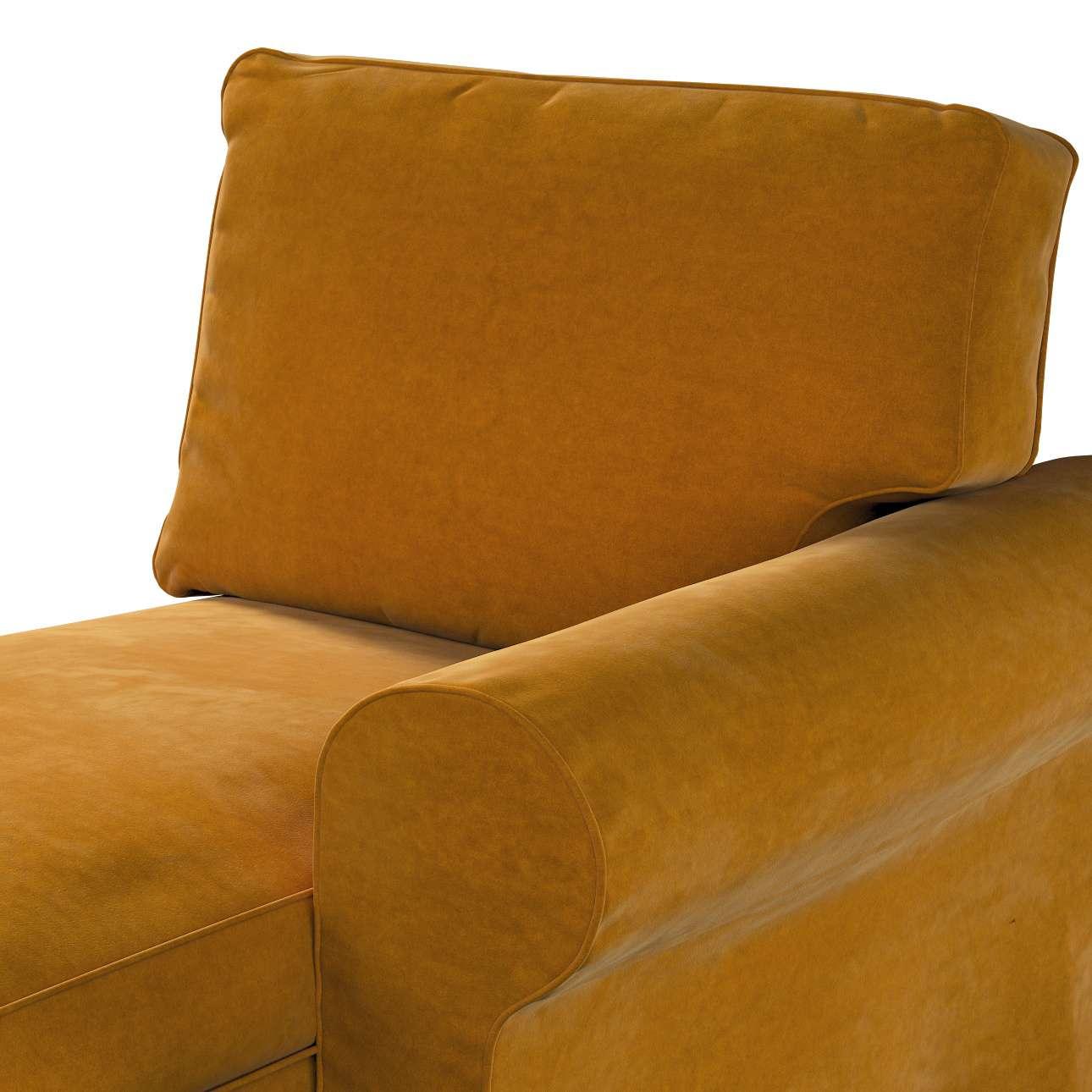 Pokrowiec na szezlong Ektorp prawy w kolekcji Velvet, tkanina: 704-23