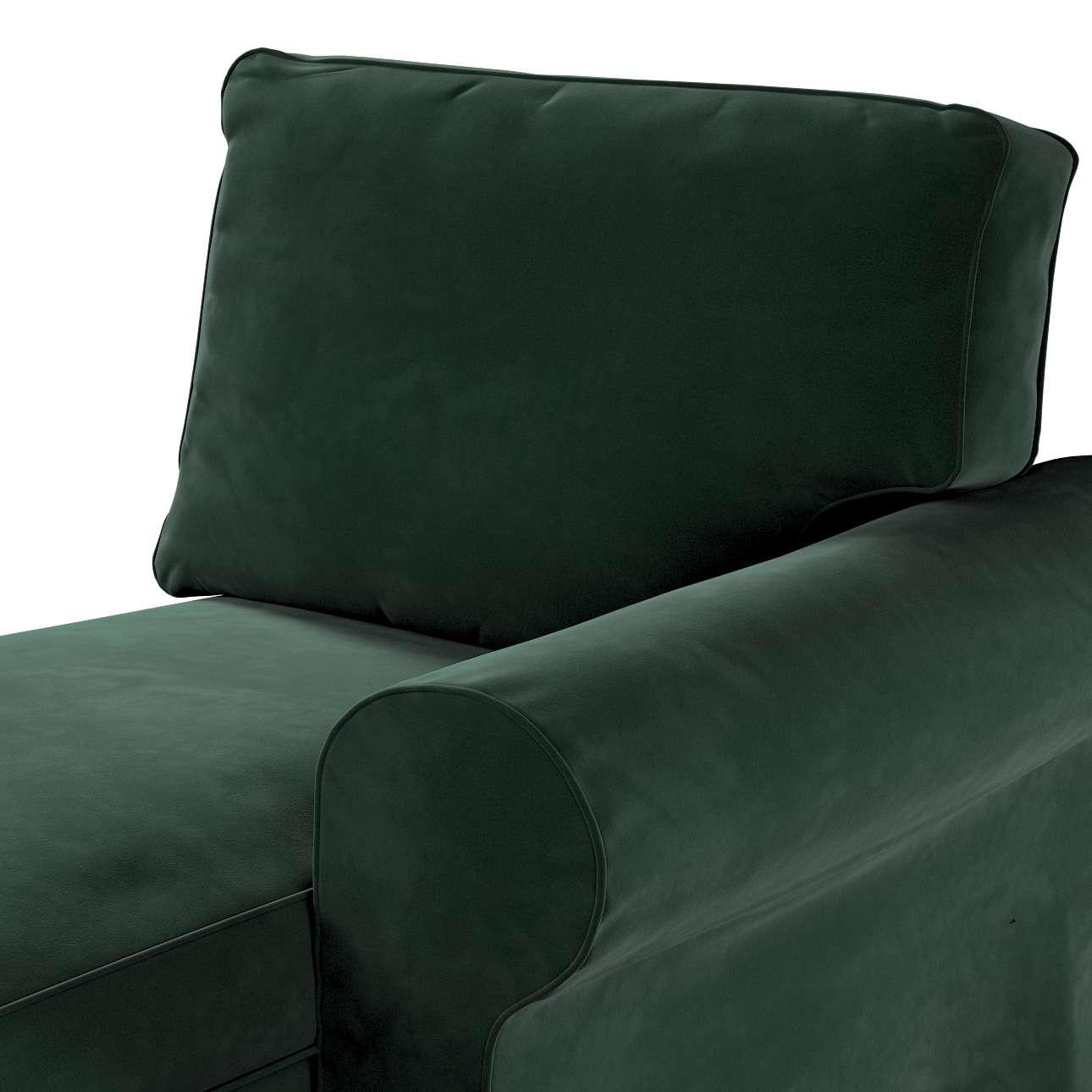 Pokrowiec na szezlong Ektorp prawy w kolekcji Velvet, tkanina: 704-25