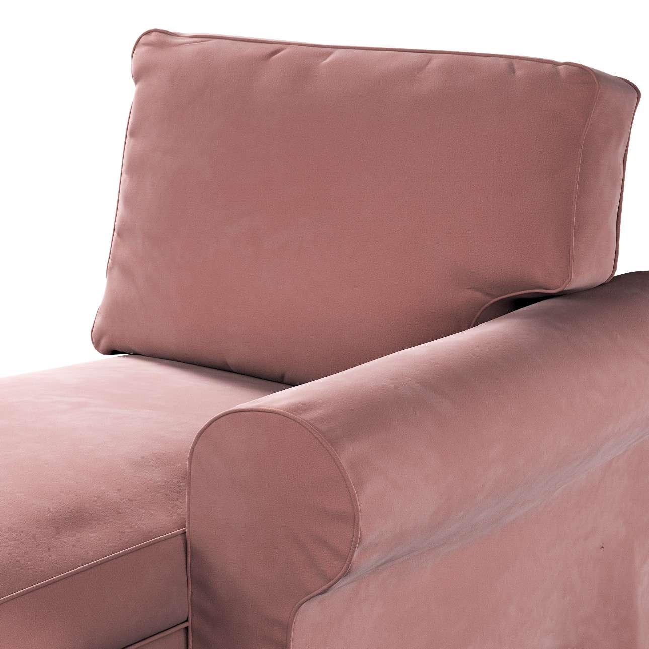 Pokrowiec na szezlong Ektorp prawy w kolekcji Velvet, tkanina: 704-30