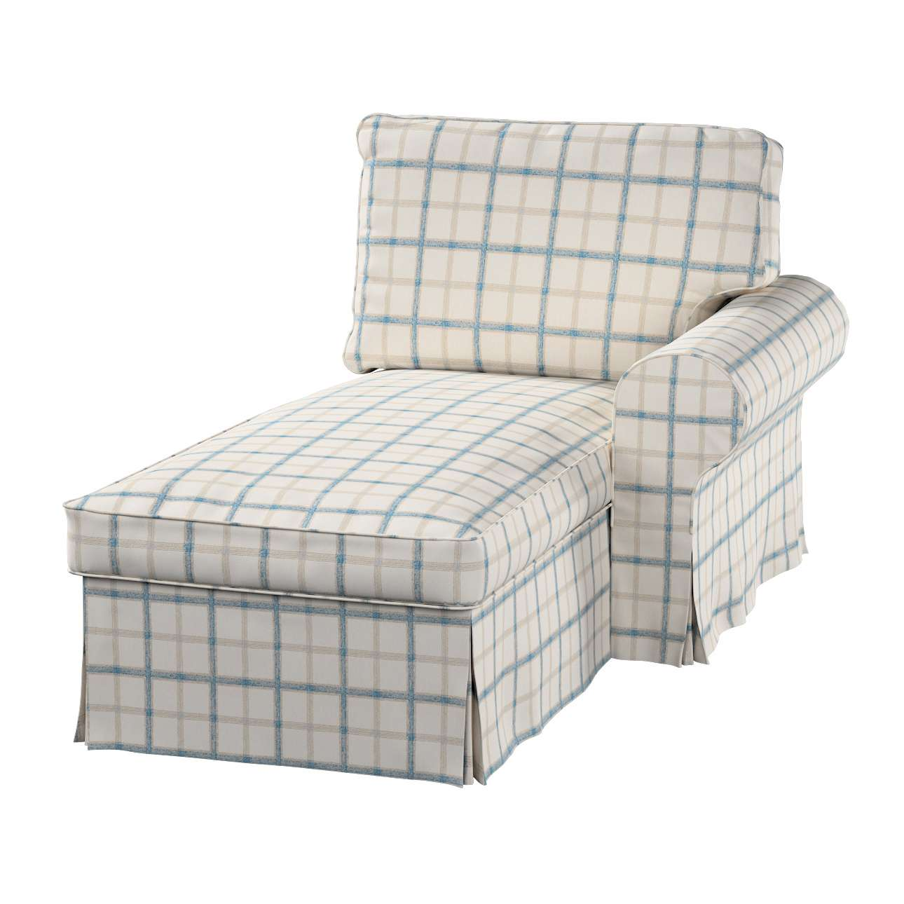Ektorp jobbos fekvő fotel huzat a kollekcióból Lakástextil Avinon, Dekoranyag: 131-66
