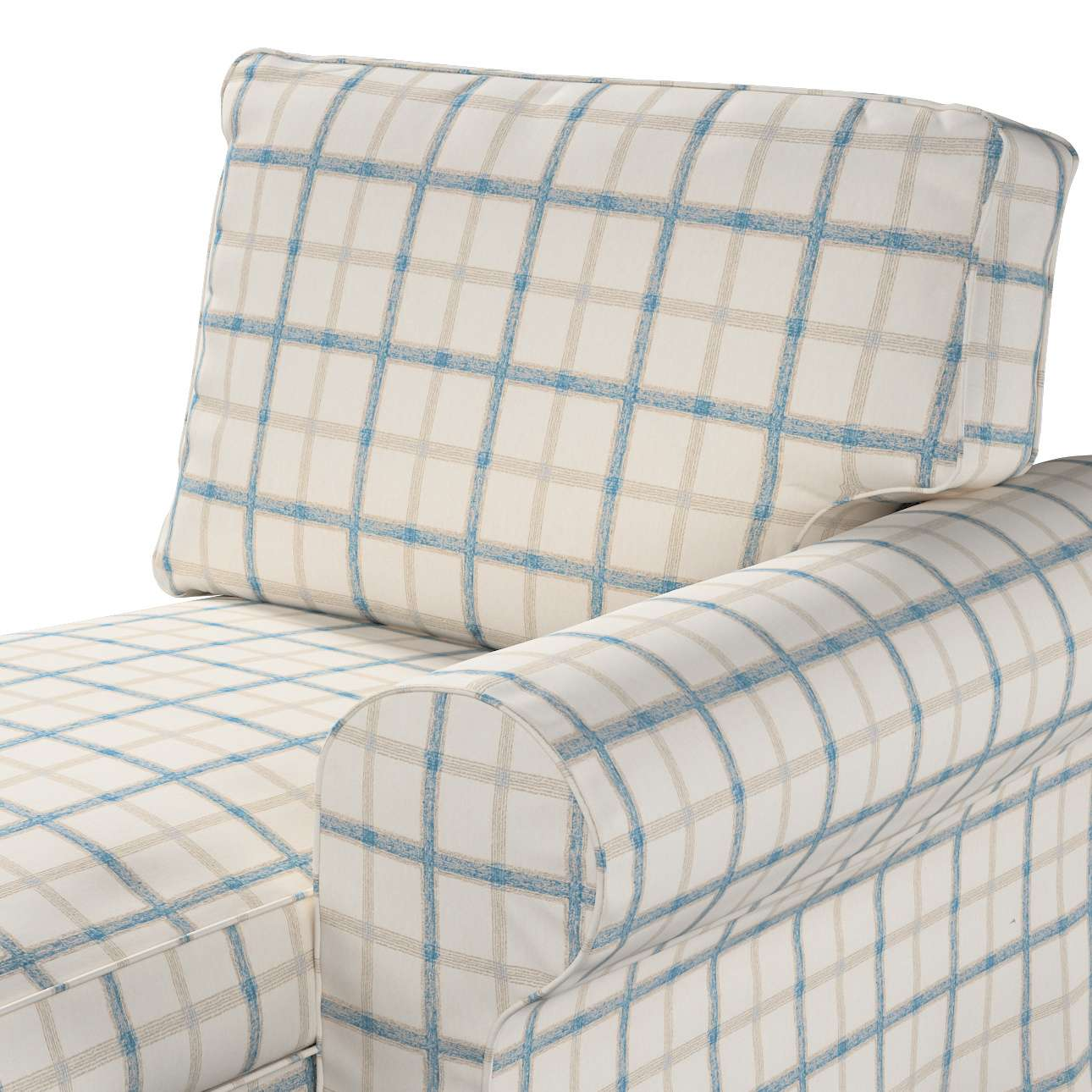Pokrowiec na szezlong Ektorp prawy w kolekcji Avinon, tkanina: 131-66