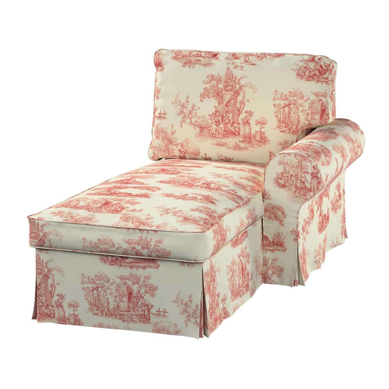 Ektorp gulimajo krėslo užvalkalas  (su porankiu, dešiniojo) Ektorp gulimojo krėslo užvalkalas su porankiu (dešiniojo) kolekcijoje Avinon, audinys: 132-15