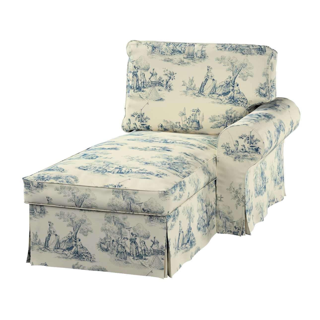 Ektorp gulimajo krėslo užvalkalas  (su porankiu, dešiniojo) Ektorp gulimojo krėslo užvalkalas su porankiu (dešiniojo) kolekcijoje Avinon, audinys: 132-66