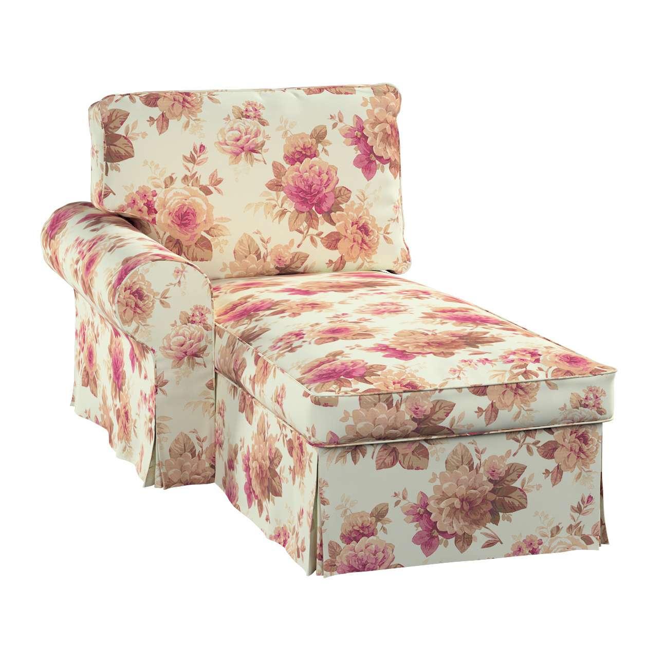 ektorp bezug f r r camiere links beige bordeaux dekoria. Black Bedroom Furniture Sets. Home Design Ideas