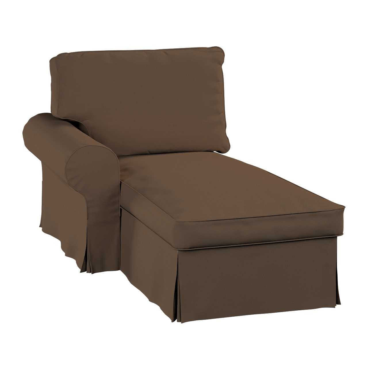 Ektorp gulimojo krėslo užvalkalas (su porankiu, kairiojo) Ektorp gulimasis krėslas - kairysis kolekcijoje Cotton Panama, audinys: 702-02
