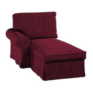 Ektorp gulimojo krėslo užvalkalas (su porankiu, kairiojo) Ektorp gulimasis krėslas - kairysis kolekcijoje Chenille, audinys: 702-19