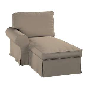 Ektorp gulimojo krėslo užvalkalas (su porankiu, kairiojo) Ektorp gulimasis krėslas - kairysis kolekcijoje Cotton Panama, audinys: 702-28