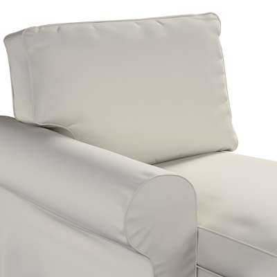 Pokrowiec na szezlong Ektorp lewy w kolekcji Cotton Panama, tkanina: 702-31